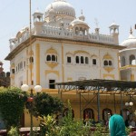 Gurdwara Dera Sahib in Lahore where the commemoration of the martyrdom anniversary of Guru Arjun Dev Ji was held.