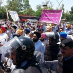Protest by Sikhs in Pakistan