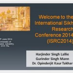 International Sikh Research Conference 2014