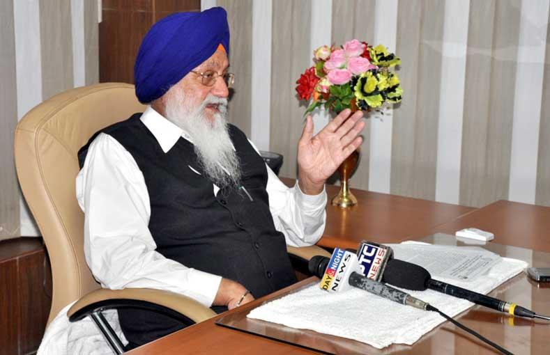 SGPC President S. Avtar Singh Makkar [File Photo]