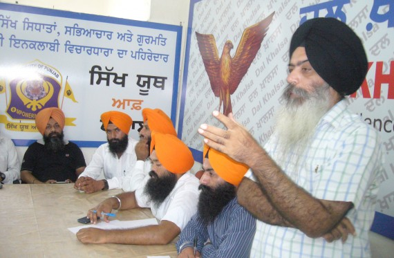 Dal Khalsa leader Kanwar Pal Singh sharing his views