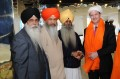 Nick Clegg with Sikh Federation UK leaders [File Photo]