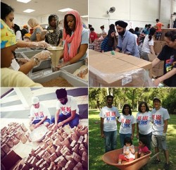 Photos of National Day of Sewa observed by the Sikh Coalition