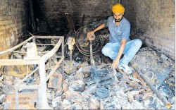 Sikh properties were torched by Muslim mobs during Saharanpur violence