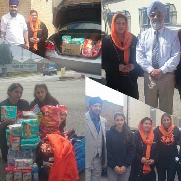 Sikh Relief members extend helping hand to Afghan Sikhs in UK