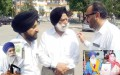 Colonel (retd.) G. S. Sandhu Advo. Tejinder Singh Soodan and Advo. Yadwinder Singh Dhillon [File Photo]