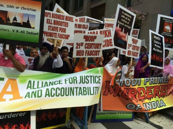 Photo 10 - Narendra Modi's Madison Square Garden address invites huge protests
