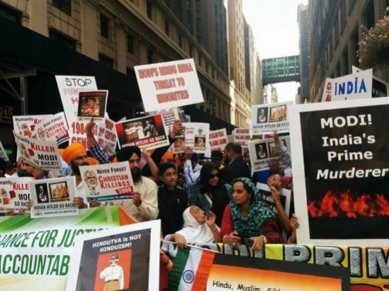 Photo 1 - Narendra Modi's Madison Square Garden address invites huge protests