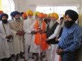 Bhai Satwant Singh's brother Wariam Singh Aghwan honored at Akal Takht Sahib