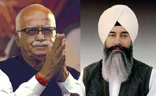 LK Advani (L) and Gurinder Dhillon (R) [File Photos]