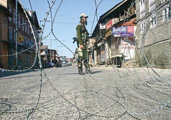 Kashmir Remains Tense, Curfew Imposed In Srinagar After