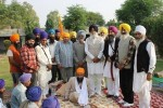 S. Simranjeet Singh Mann and others with Bhai Gurbaksh Singh Khalsa