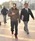 Punjabi singer Jazzy B appears before the ED in Jalandhar on December 17, 2014