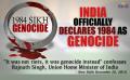 Sikh Genocide 1984 Sikhs for Justice 1