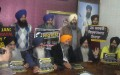 ADPP and Dal Khalsa leaders addressing media persons