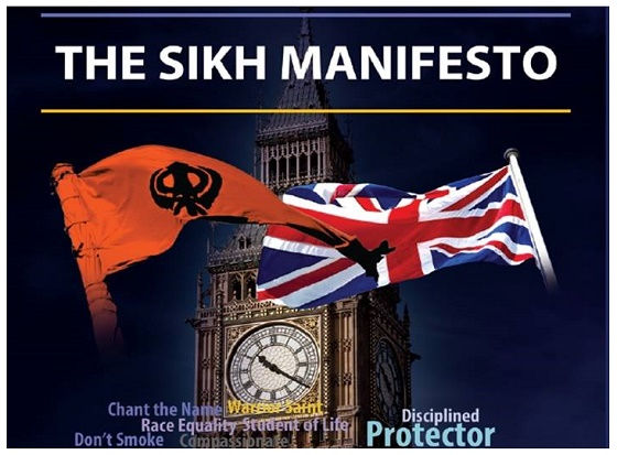 Sikh Election Manifesto for British Parliamentary Elections 2015