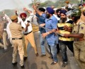 DSGMC stages protest against CBI for clean chit to Jagdish Tytler