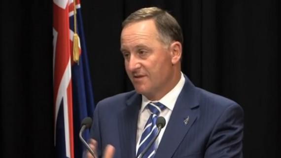John Key addressing media reports