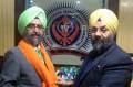Rajwant Singh (L) and Manjit Singh GK (R)
