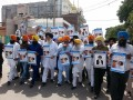 Sikh organizations hold protest march in Jalandhar demanding release of Sikh Political Prisoners