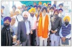 Surjit Singh Kalaboola files nomination papers