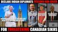 SFJ seeks expulsion of Indian Diplomats from Canada
