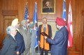 Sikhs Honor US Attorney General Eric Holder with a Sewa Award in Washington
