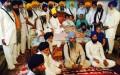 Baba Ranjit Singh Dhadrianwale visits Bapu Surat Singh Khalsa