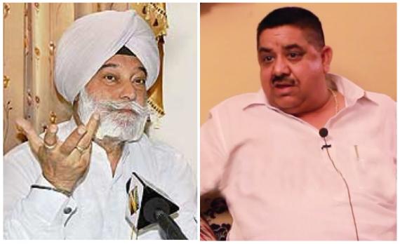 Bir Davinder Singh (L) | Gurmeet Pinky (R) [File Photos]