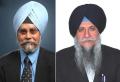 Pashaura Singh (L) and Dr Gurmohan Walia (R) [ File Photos]