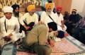 Yogendra Yadav meets Bapu Surat Singh Khalsa