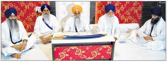 Meeting of Five Sikh Jatehdars [May 27, 2015]
