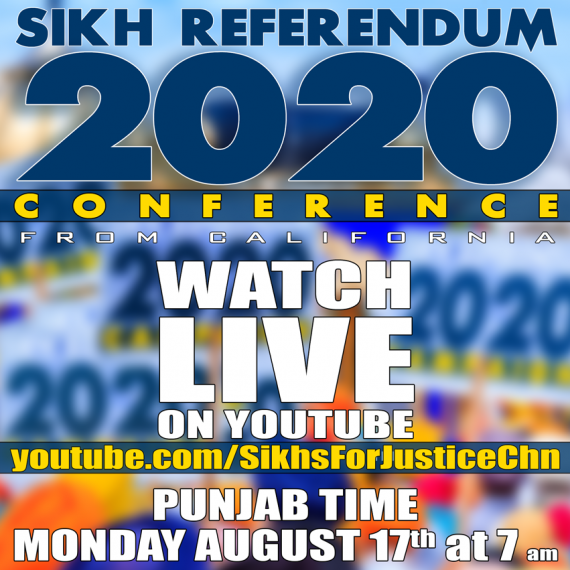 Sikhs For Justice to Broadcast Conference via YouTube