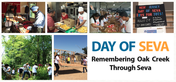 Remembering Oak Creek with Community Service