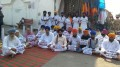 Members of Sikh Sadbhavana Dal hold protest in Anandpur Sahib