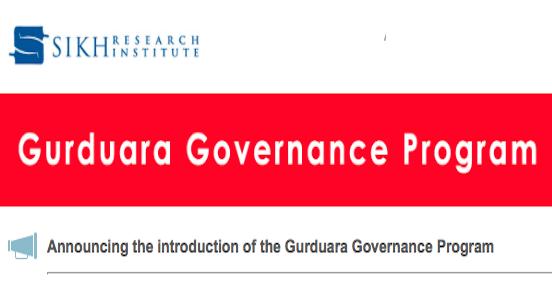 SikhRI Gurdwara Governance Programme