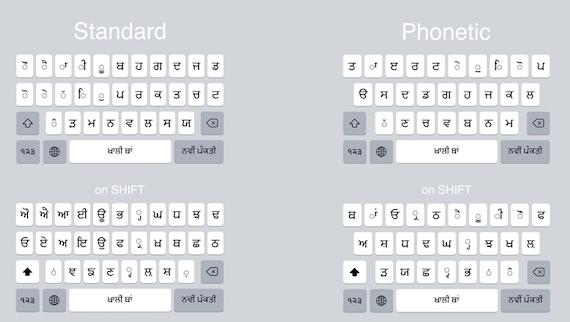 Apple adds Punjabi Keyboard to iOS 9 for iPhone