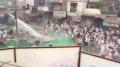 A still of police action against the Sikh sangat at Kotkapura