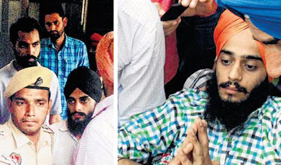 Jaswinder Singh (L) and Rupinder Singh (R)