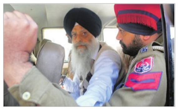 S. Gurdeep Singh Bathinda in Police custody
