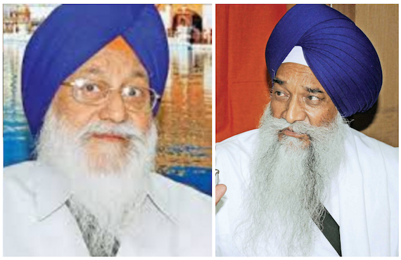 Avtar Singh Makkar (L) Giani Gurbachan Singh (R) [File Photos]