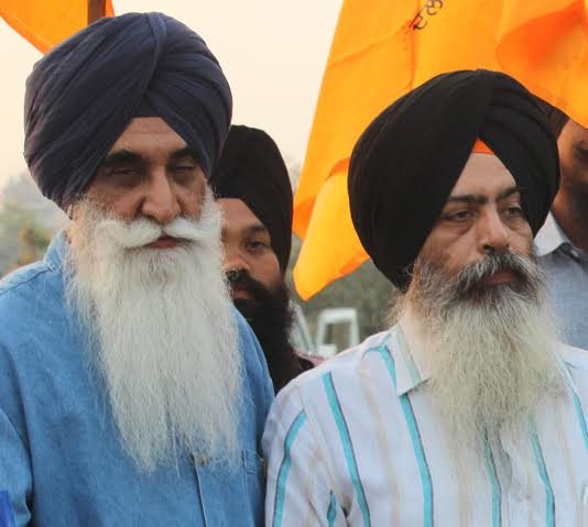 Bhai Kanwarpal Singh (R) and Bhai Harpal Singh Cheema (L) [File Photo]
