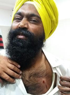 Gurpreet Singh, who was reportedly hit by a bullet while on duty inside Darbar Sahib complex