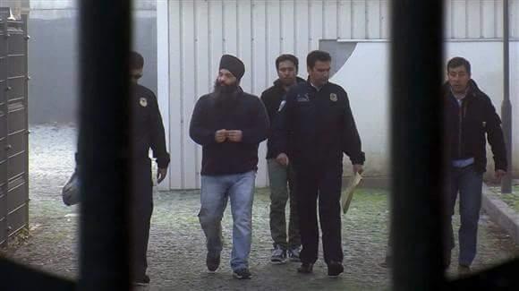 Parmjeet Singh Pamma in Police custody [File Photo]