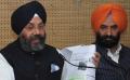 Manjit Singh GK (L) and Manjinder Sirsa (R)
