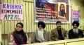 File Photo: Sikh leaders participating in a seminar held in memory of Afzal Guru in Delhi last year (2015)