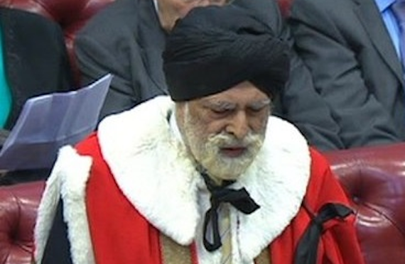 Lord Inderjit Singh [File Photo]