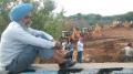 Satluj Yamuna Link Canal being levelled near Rajpura | March 16, 2016