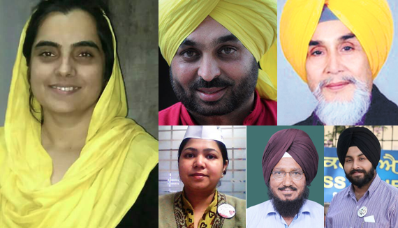 Six leaders from Punjab included in AAP's Central Executive