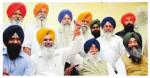 S. Simranjeet Singh Mann with Jaswant Singh Cheema and others (Photo Credits: Inderjit Verma | Photo Source: Punjabi Tribune)